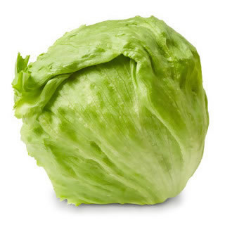 Crisphead lettuce